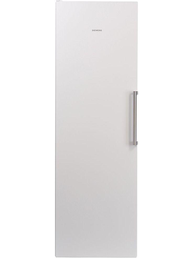 Siemens KS36VCW30 energisnålt kylskåp med smart sensorteknik. Kylen har dynamisk kylning med en kylfläkt som ser till att det sprids en jämn kyla i hela skåpet.