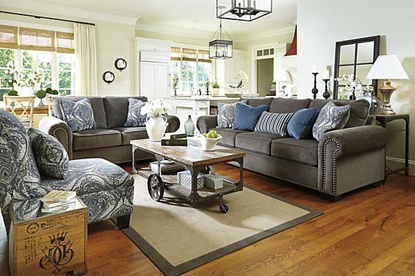 The Navasota Queen Sofa Sleeper From Ashley Furniture