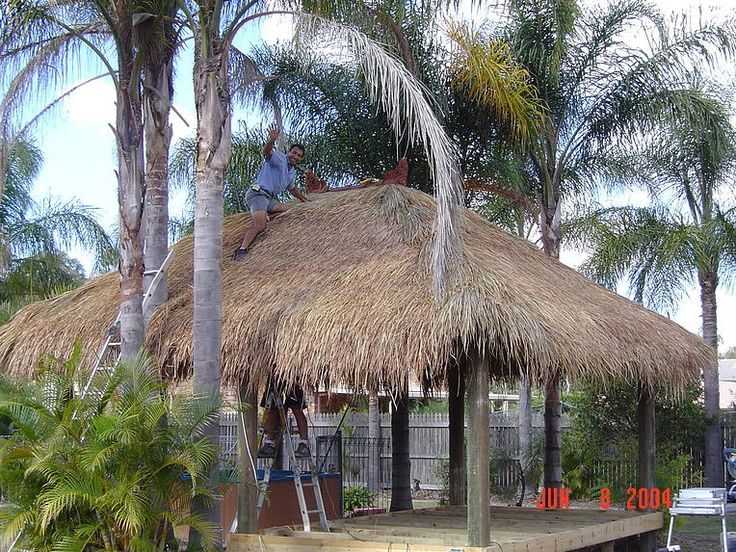 Brisbane Thatch Bali Hut Hexagon Umbrellas are available at Brisbane Thatch & Decks. We are into supplying and installing high-quality Brisbane Thatch Hexagon Umbrellas in varying sizes and shapes, as per the client's requirements. We have gained years of experience and immense expertise in doing the job. Avail yourself of our services!