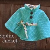PDF Sewing Pattern - Girl Jacket Pattern - via @Craftsy, patron à 7,50$