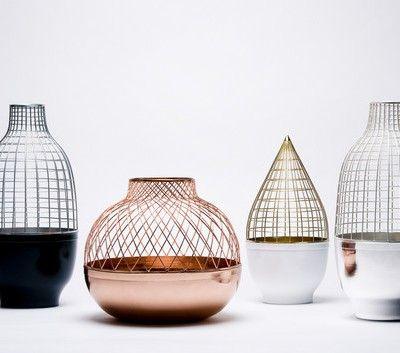 Grid vases - Jaime Hayon