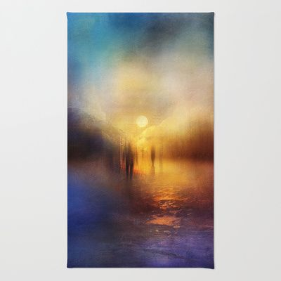 Light Echoes Rug by Viviana Gonzalez - $28.00