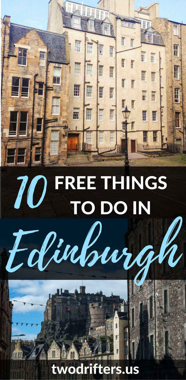 Looking for free things to do in Edinburgh? Exploring Edinburgh on a budget is easy! Here are 10 great things to do for free in Scotland's capital.