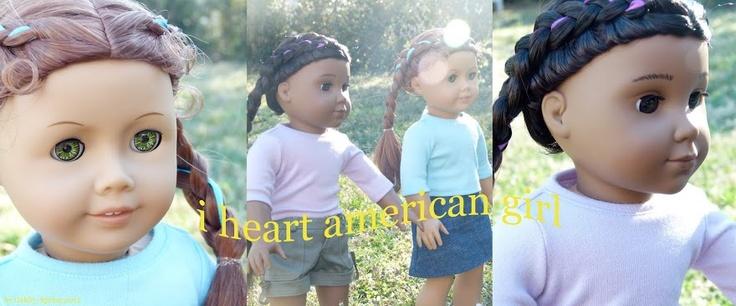 I Heart American Girl-online book club