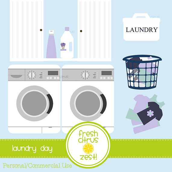 washing machine and dryer clipart. laundry clip art washing machine dryer by freshcitruszest on etsy and clipart