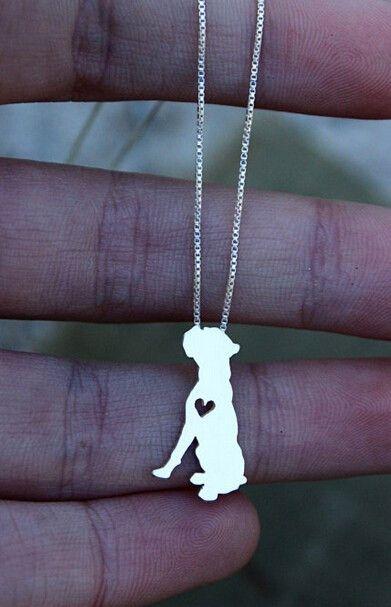 Boxer Dog Pendant w/ Necklace