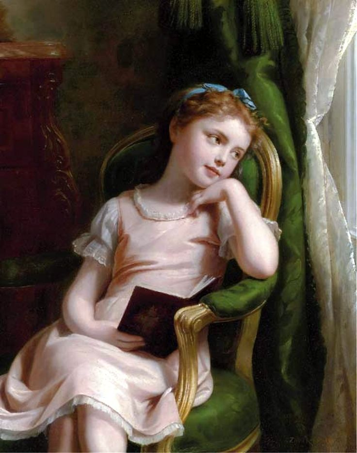 The Athenaeum - Daydreaming (Fritz Zuber-Buhler - ):