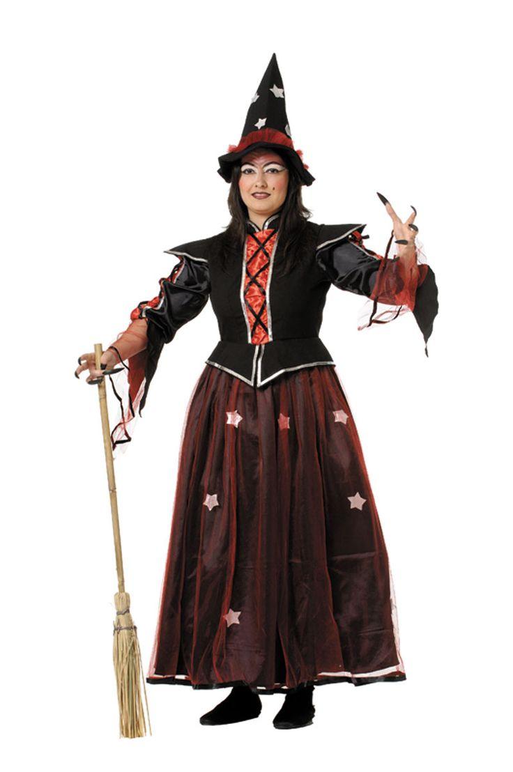 Elegante disfraz de #bruja