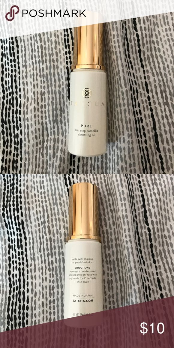 Tatcha Pure Cleansing Oil Tatcha Pure Cleansing Oil 25ml (0.8 fl oz) No box comes with this product. Never Used. No Returns or Refunds. Tatcha Makeup