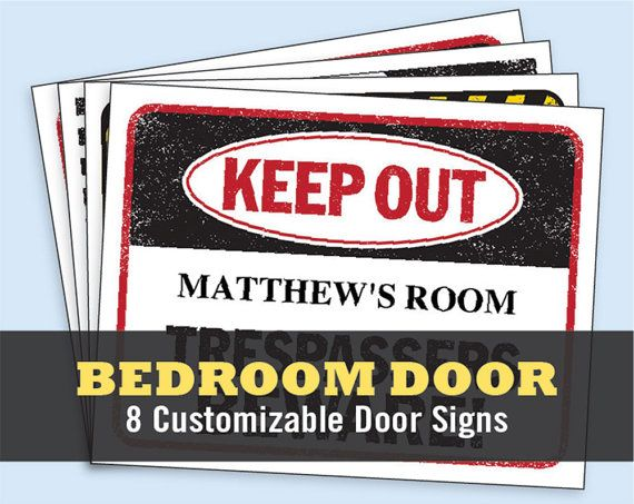 Keep Out Signs For Bedroom Doors Home Design Ideas Impressive Keep Out Signs For Bedroom Doors