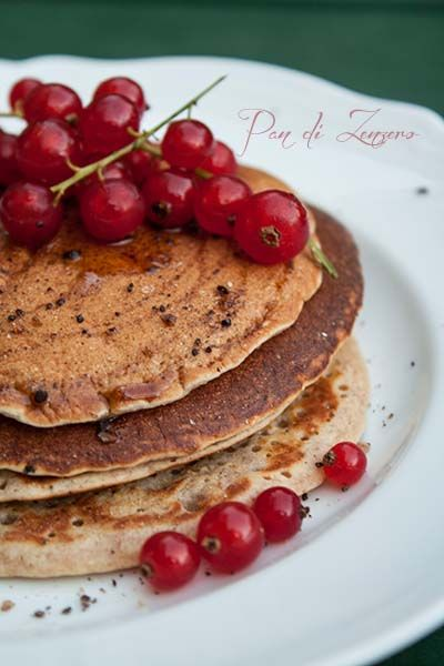 Pancake Light con farina integrale