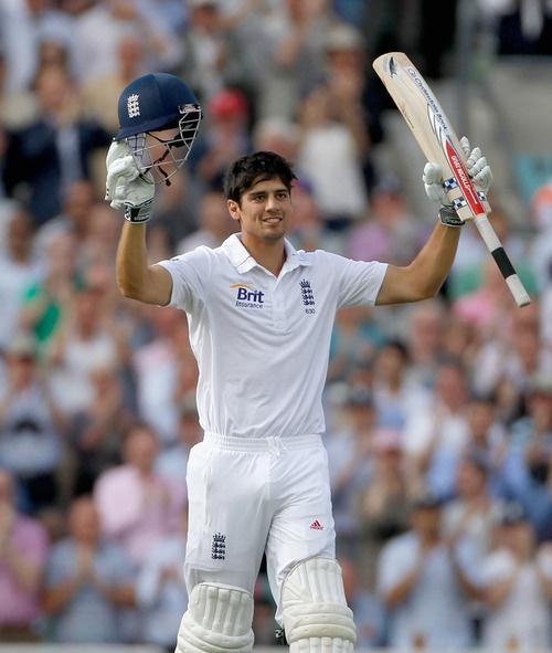 Alastair Cook    { England Cricket Team Captain }