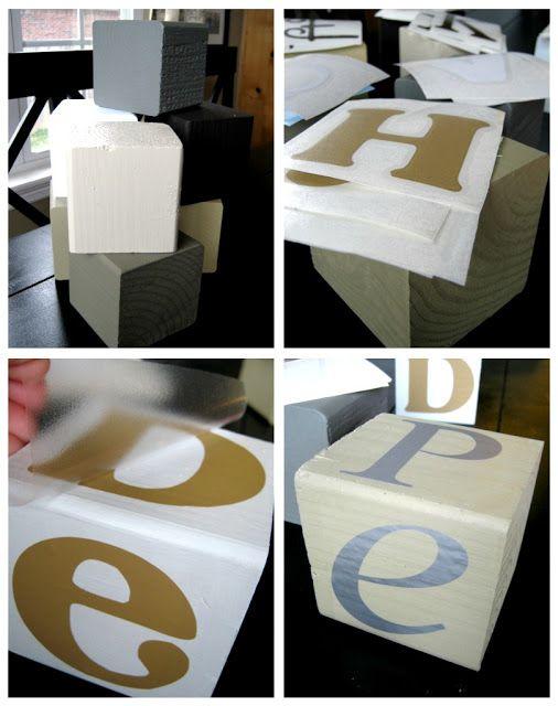 Wood Blocks Craft