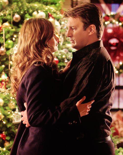 Castle - Secret Santa Episode - Season 5. Castle & Beckett (aka Caskett)