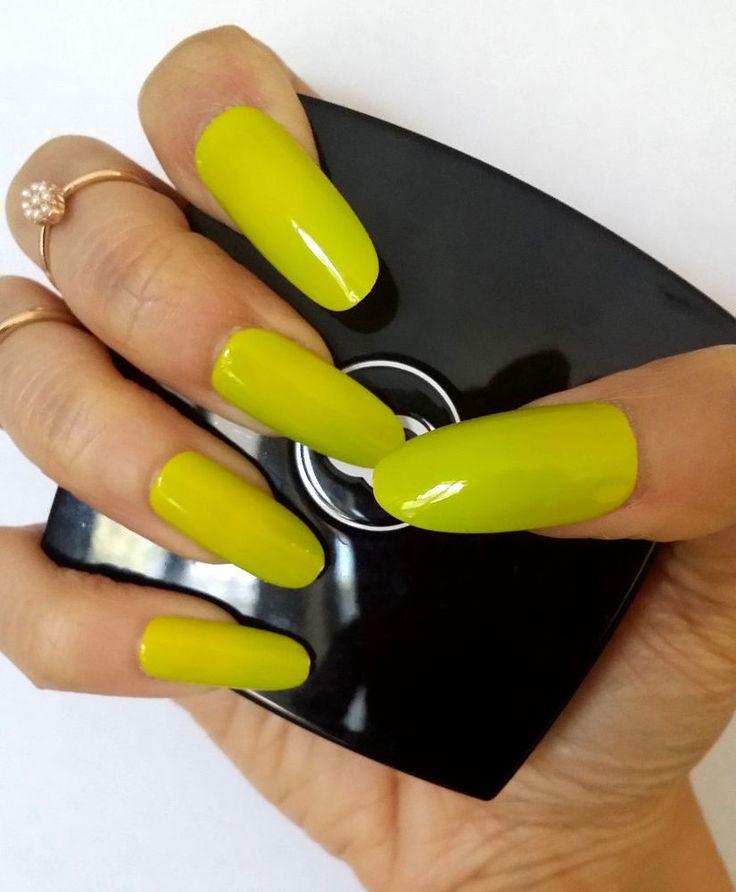 Stiletto Nails,Oval Nails,Hand Painted False Nails ,UV Gel,Press on Nails+Glue