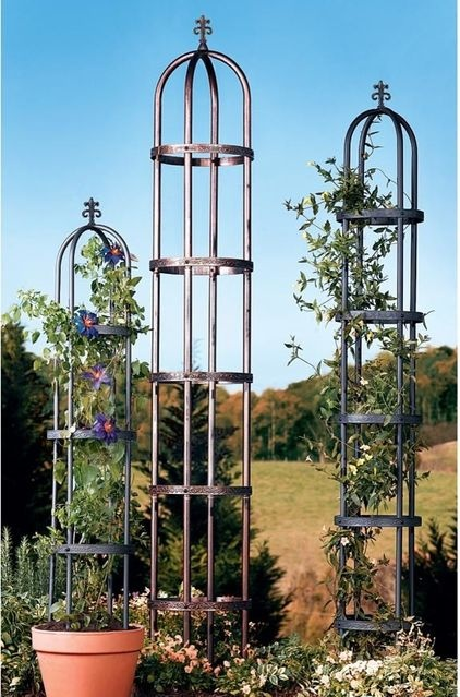 Garden Obelisk   $59.95 » Give Winding Vines A Place To Climb, And Create An