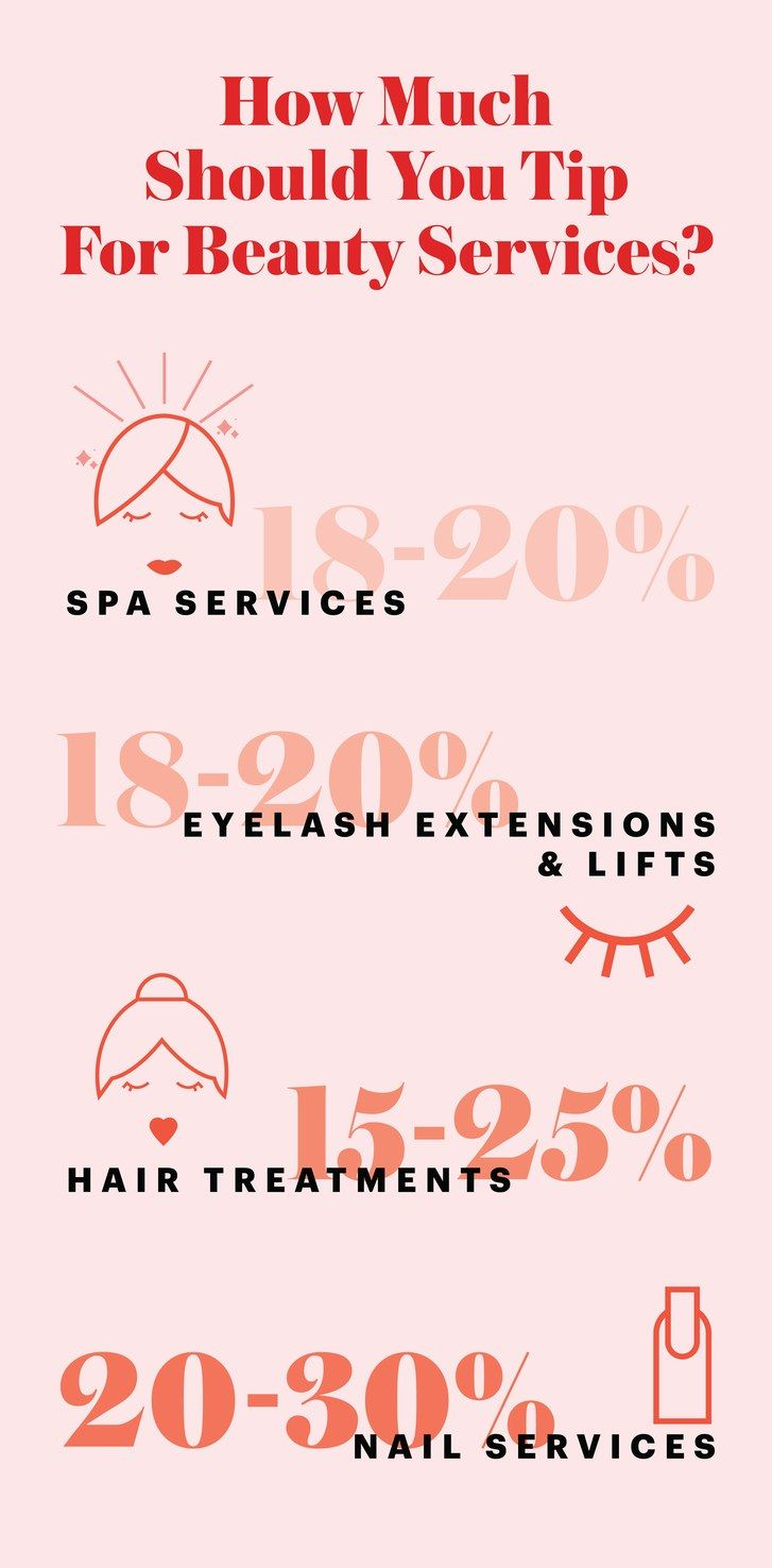 The Ultimate Guide To Tipping For Beauty Services Beauty Services Salon Services Nail Services
