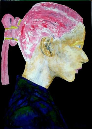 "Saatchi Art Artist George Sabin; Painting, ""Italian Girl"" #art"