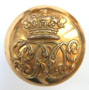 Victorian Officers 7th Dragoon Guards (Princess Royal's) Gilt Button | eBay