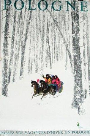 Janusz Grabianski, Passez vos vacances d'hiver en Pologne, 1969