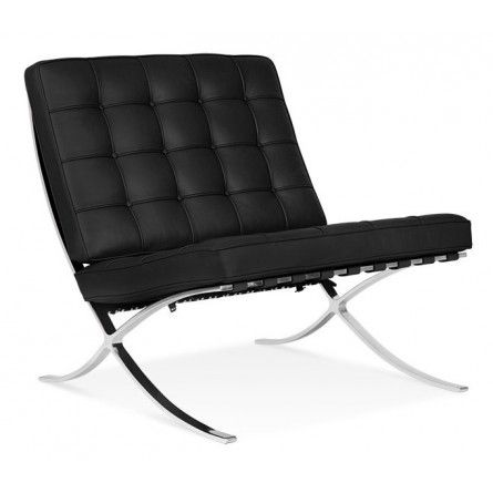 Best 25 barcelona chair ideas on pinterest bauhaus for Mies van der rohe replica