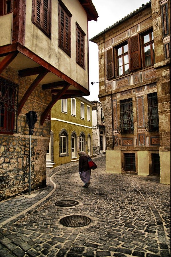 The traditional architecture, beauty and colours of Xanthi' s Old Town
