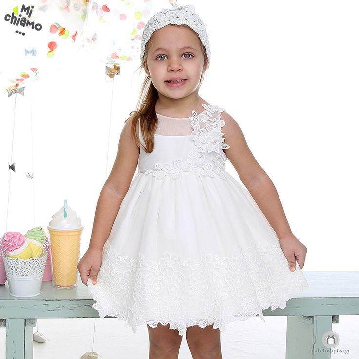 Φόρεμα Βάπτισης από Τούλι και Δαντέλα με Λουλούδια Ιβουάρ Mi Chiamo Κ4021-16658 https://www.paketovaptisi.gr/christening-packages-girl/christening-clothes-girl/sum-spri/product/2319-16658.html Βαπτιστικό φόρεμα από τη νέα collection της εταιρείας Mi Chiamo κατασκευασμένο από τούλι και δαντέλα με λουλούδια σε ιβουάρ χρώμα . Το σύνολο συνοδεύεται από καπέλο ή κορδέλα ή στέκα το οποίο συμπεριλαμβάνεται στην τιμή. Συνδυάζεται προαιρετικά με ασορτί ζακετάκι. #MiChiamo #φορεμα #βαπτιση #βαπτιστικα