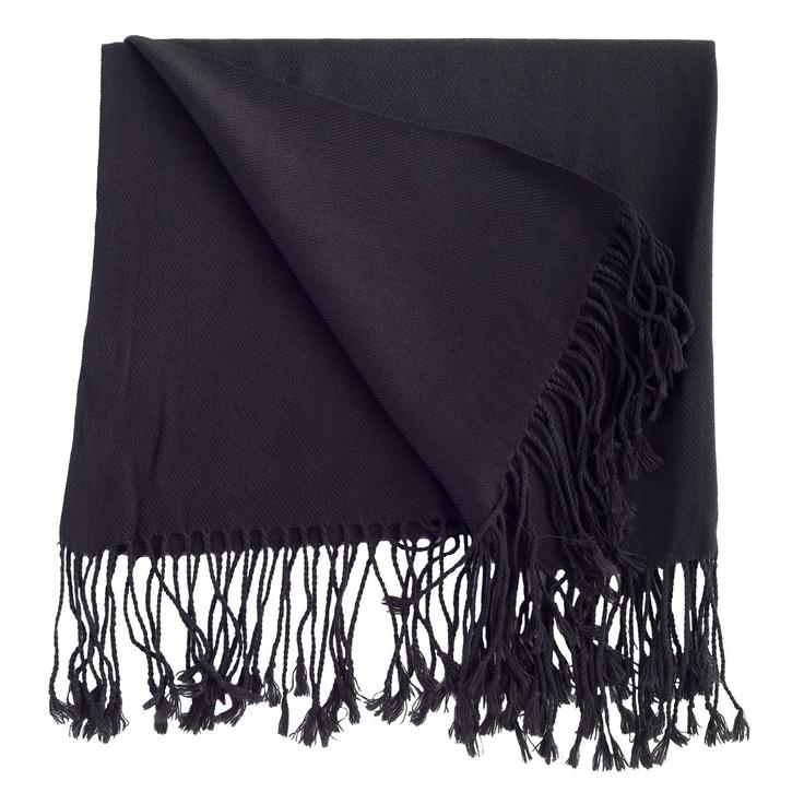 Fringed-black Grace Adele scarf  www.mrsyeager44.graceadele.us