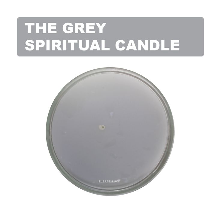 Spiritual candles have meanings behind their colors. It is wise to keep in mind the mystical purposes they align with in order to release their powers.The grey candle is good to light up any day of the week. To petition money. In Astrology the grey candle goes well with Pisces. A popular represented by the grey candle Juan of Money. Find all your candles at suerteluck.com #candles