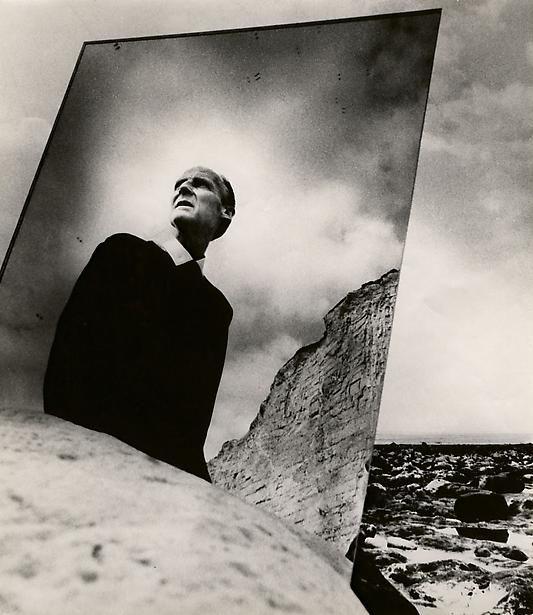 Bill Brandt. Self Portrait with Mirror, East Sussex Coast, 1966