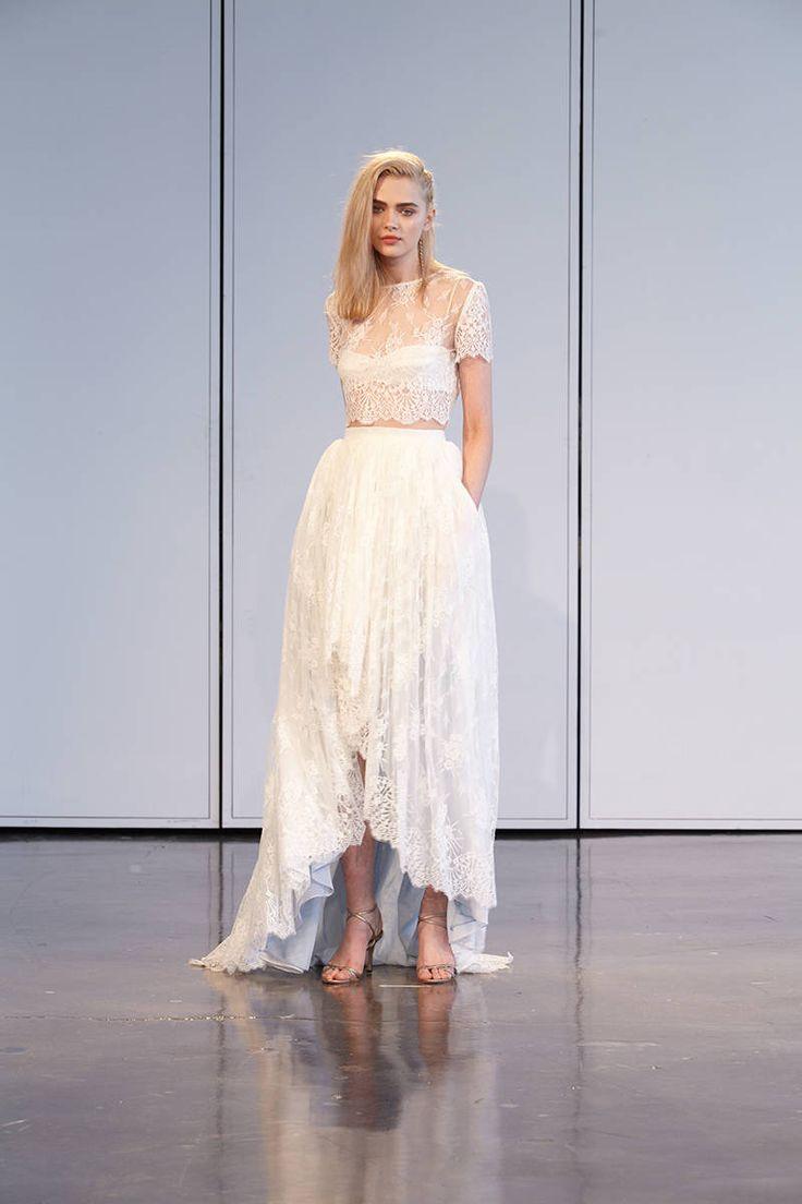 2 piece crop top wedding dress   best Doğum Günü İçin Özel Ürünler images on Pinterest  Html
