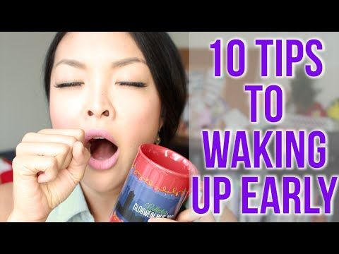 HOW TO: Wake Up Early Everyday - YouTube