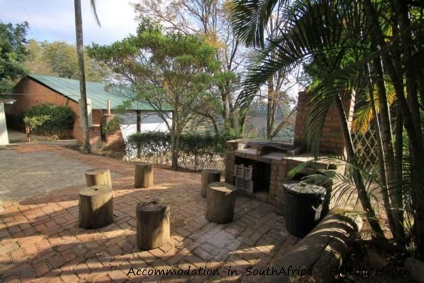 Private braai area at Hillbilly Haven. http://www.accommodation-in-southafrica.co.za/Limpopo/Tzaneen/HillbillyHaven.aspx