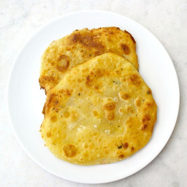 Greek Fried Pitas Filled with Feta Cheese-Tiropitaria