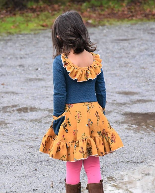 Lydia S Circle Skirt Add On Downloadable Pdf Sewing Pattern For Girls And Toddler Sizes 2t 12 Circle Skirt Circle Dress Toddler Skirt