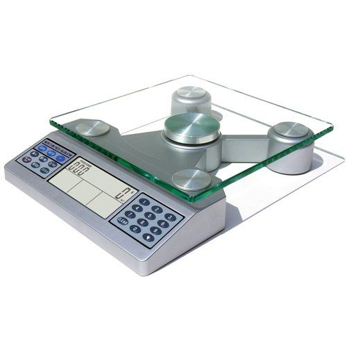 EatSmart Digital Nutrition Scale  - Calculate calories, carbs, fiber, sodium, fats, vitamin k and six other nutrients from thousands of packaged and 999 whole foods.