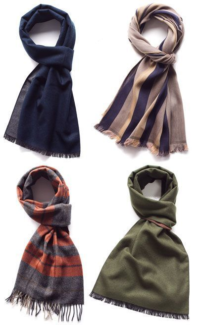how to use a scarf for guys