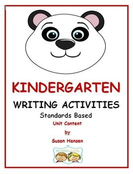kindergarten writing curriculum Kinderwriting curriculum units bundled is an engaging, standards-based  kindergarten, genre-based writing curriculum do you have a few extra moments.