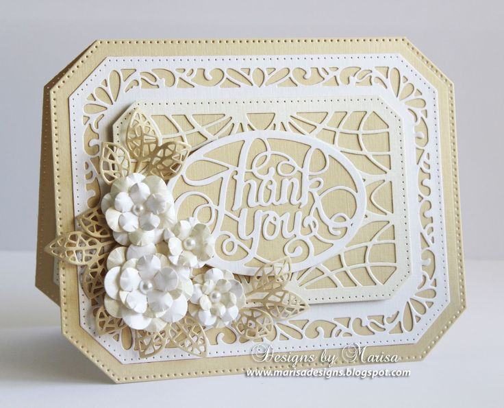 #creativeexpressions #craftdies } CEDCraft Dies by Sue Wilson: CED5502 Ornate Pierced Rectangles | CED5403 Thank You | CED1420 Mosaic Leaves | CED1421 Camellia Complete Petals