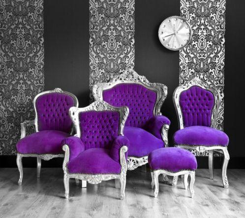 Purple chairs!