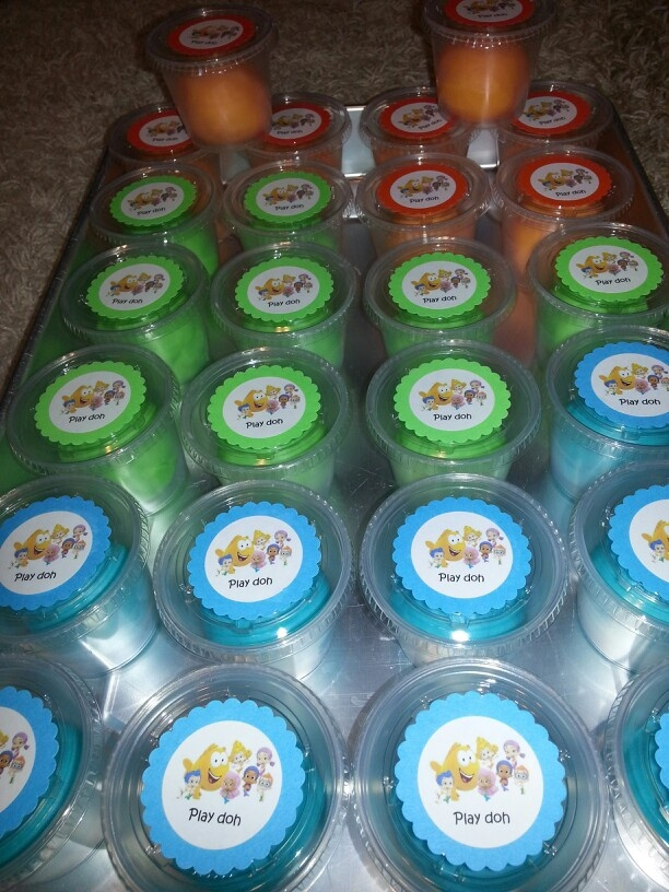 Bubble Guppies Kool Aid play doh