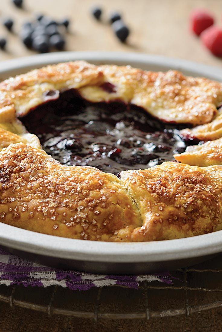 """Mixed Berry Pie Recipe """"Bumbleberry Pie"""""""