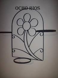 Resultado de imagen para artesania en fierro para maceteros