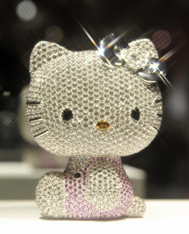 51 best hello kitty jewelry images on pinterest hello kitty hello kitty jewel doll this 4 inch doll is made of solid mozeypictures Gallery