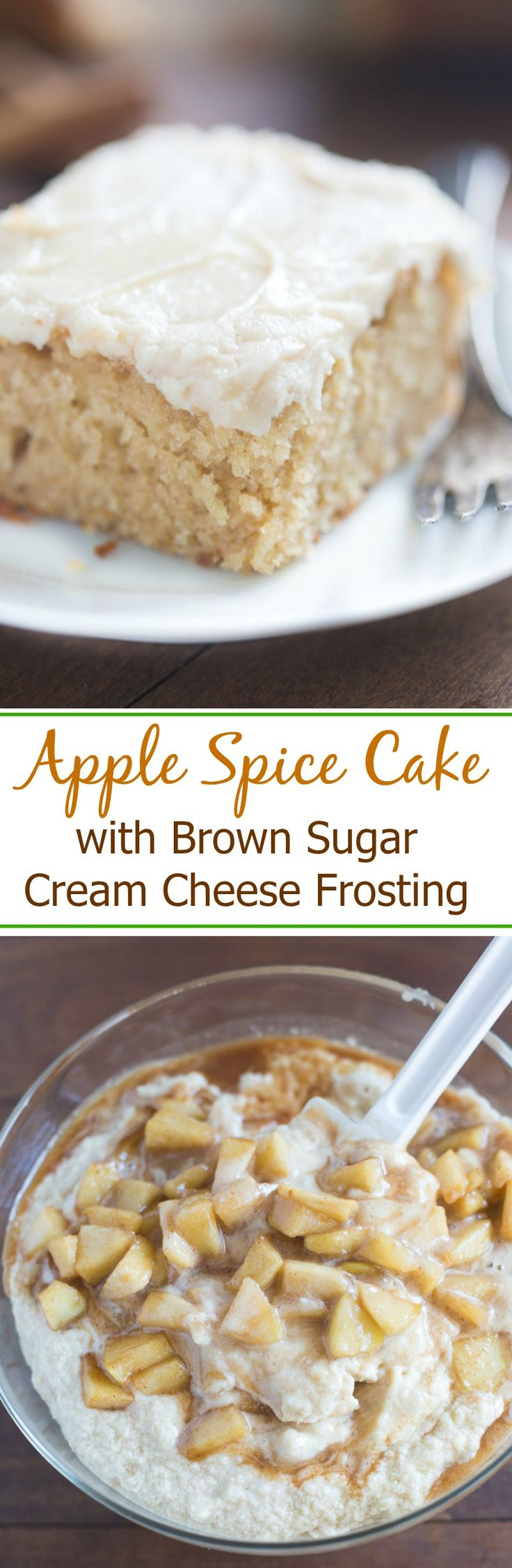 This apple pumpkin spice cake is a very delicious thanksgiving treat that I make!