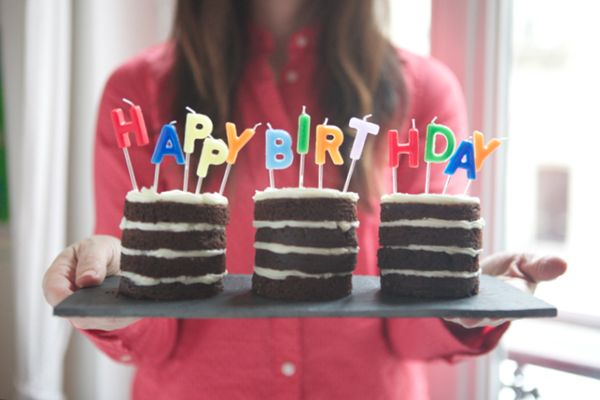 Mini Cakes DIY (Using Tin Cans) | Oh Happy Day!