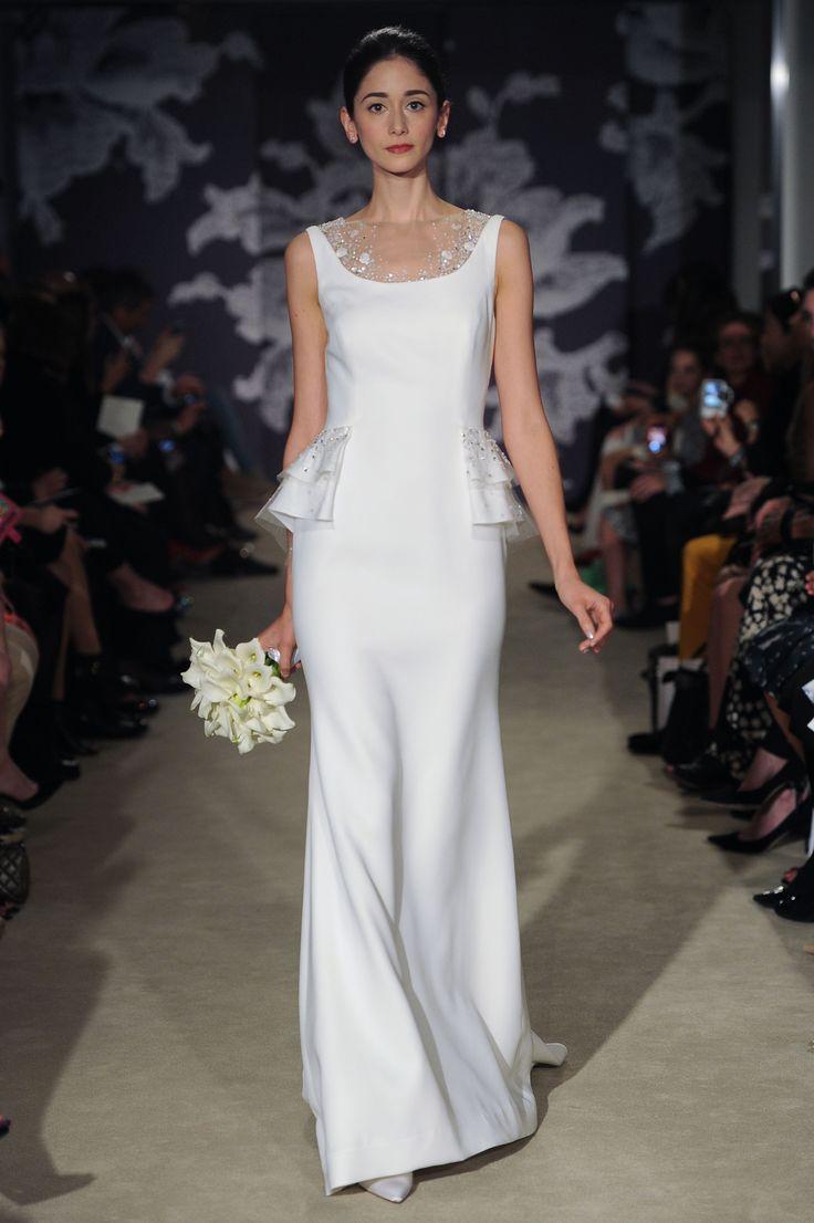 The Cara Gown #CarolinaHerrera #Bridalspring2015