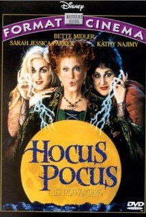 Hocus Pocus--This was my all time favorite Halloween movie to watch as a kid. Though I'm a more traditional fan of really thrillers and horror films for the big holiday, Hocus Pocus is one Disney movie that got it right. It completely embodies the spirit of fun and spookiness.