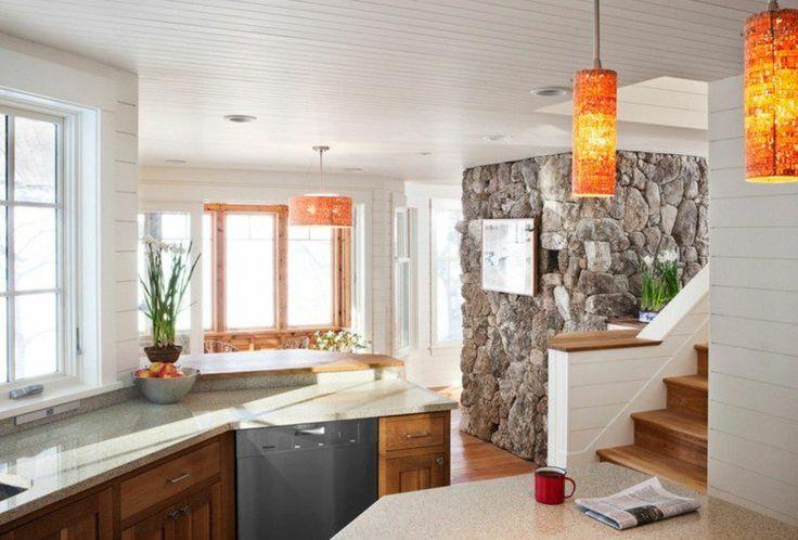 déco plafond bas et aménagement de cuisine