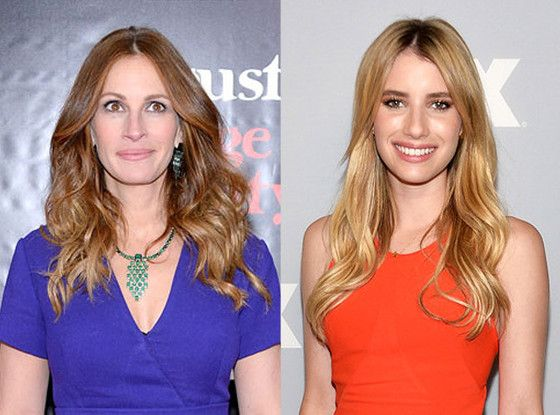 """Julia Roberts, about niece Emma Roberts: """"She is still the same magical girl she used to be. I think so much of it has to do with your intentions in taking on a business like this. If you have a pure view of what you want to accomplish, I think you can maintain your sense of self."""""""